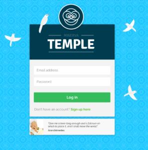 Temple splash